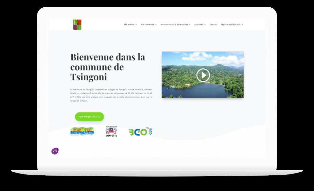Site officiel de la mairie de Tsingoni